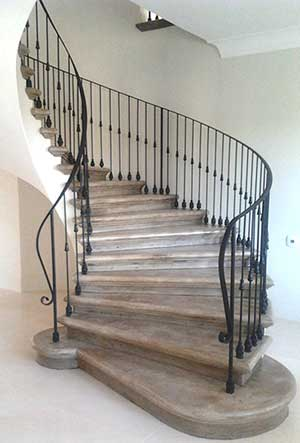 Staircase client made using Strongman Metal Tools