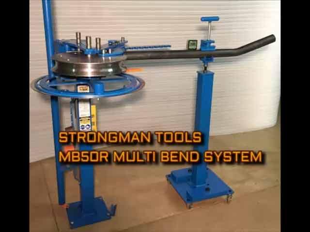 Strongman Metal Tools - Multi Bend Pipe, Tube & Bar Bender